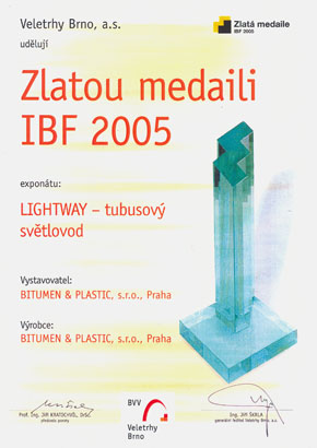 Gold Medal IBF 2005